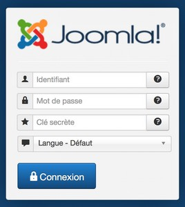Authentification Joomla