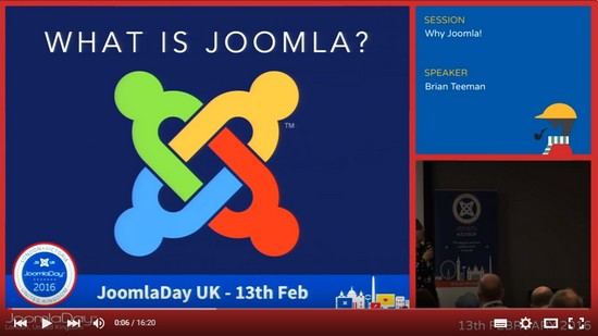 Joomla Day UK 2016