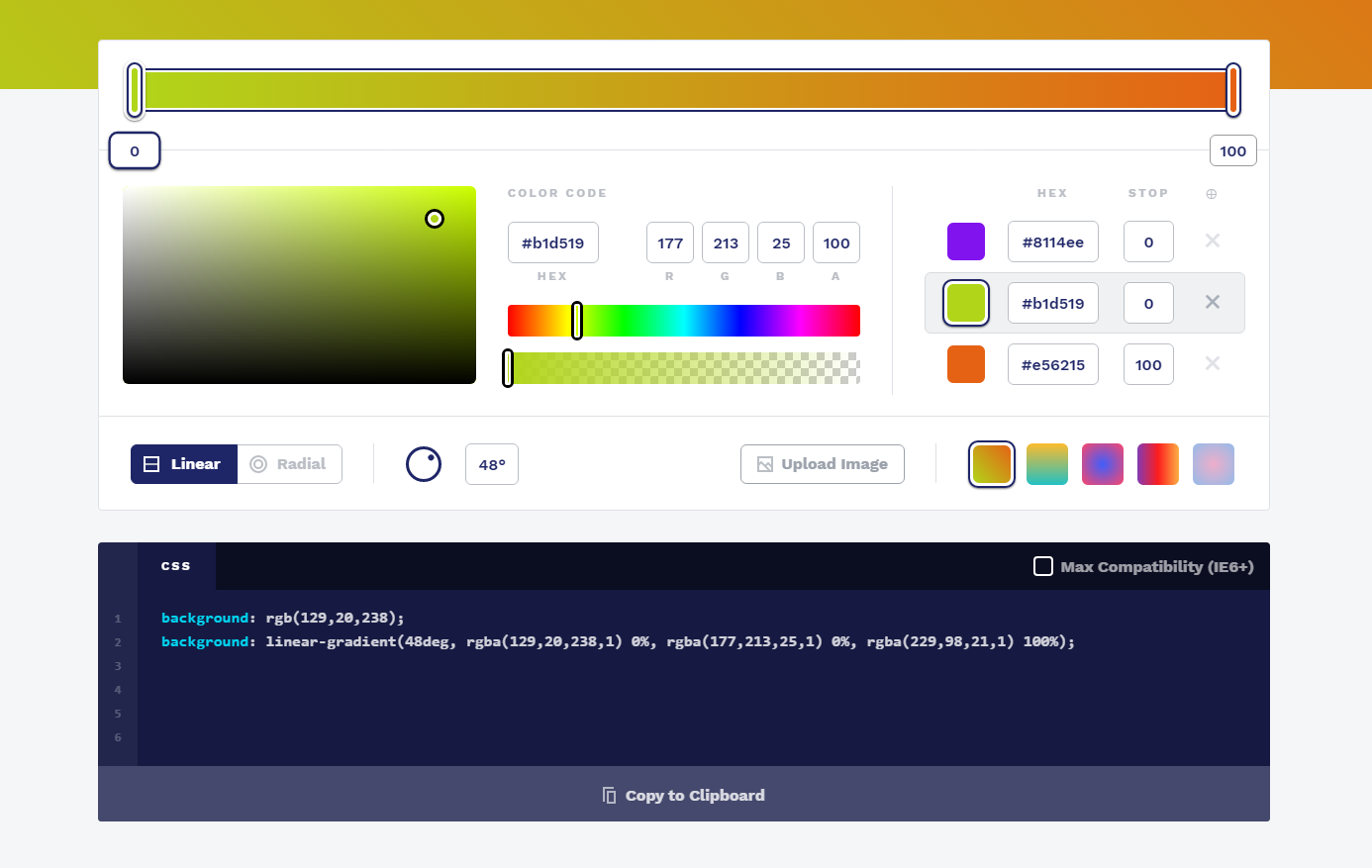 Ressource for art css - cssgradient