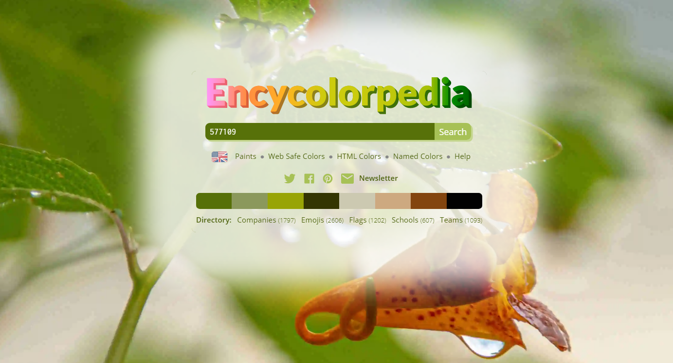 Ressource for css - encycolorpedia