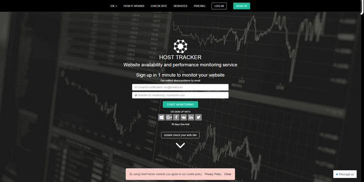 Host-Tracker monitoring service