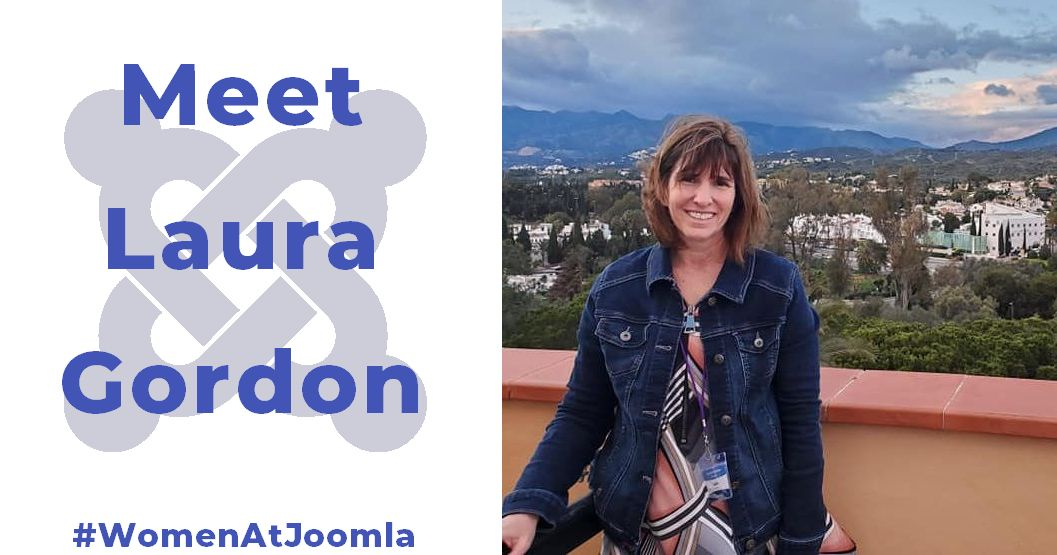 Women at Joomla - Laura Gordon