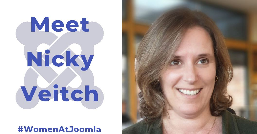 Women at Joomla - Nicky Veitch