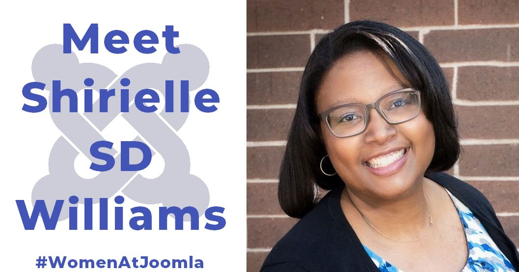 Women at Joomla - Shirielle SD Williams