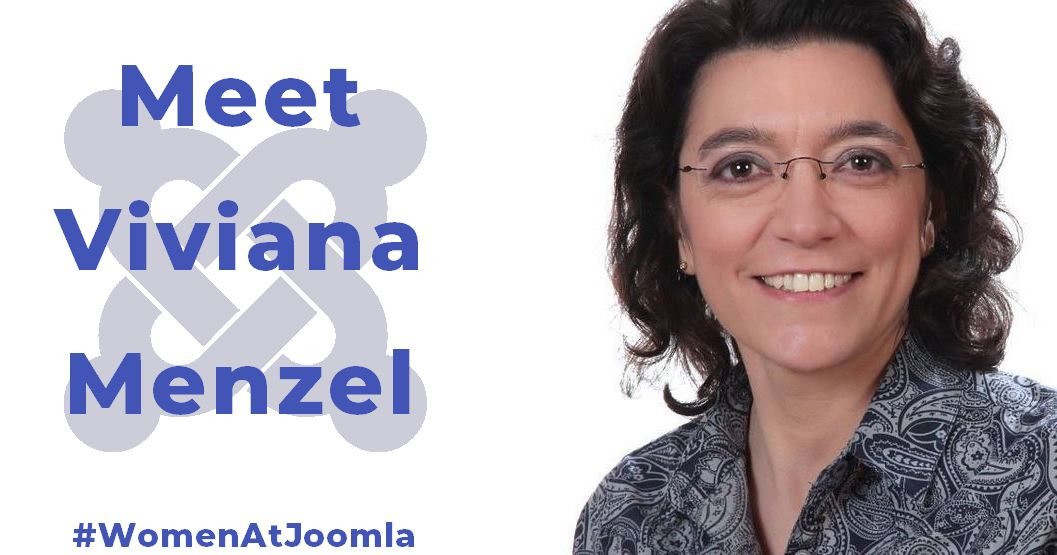 Women at Joomla - Viviana Menzel