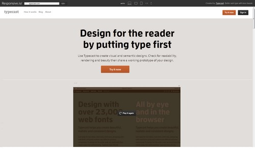 Outils Responsive Design