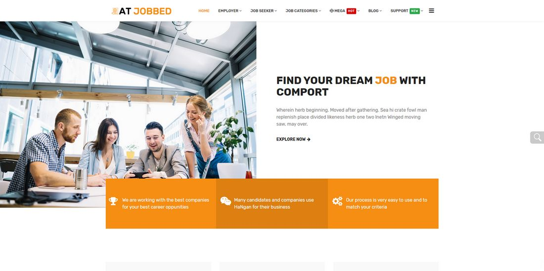 AT Jobbed Joomla Template